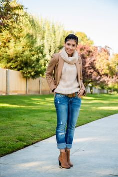 Brown Fall Outfit - Stylishlyme