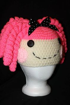Free Crochet Pattern For Lalaloopsy Hat : Babies- Childhood:Hats, Sweaters on Pinterest 145 Pins