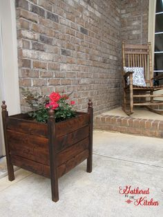 $12 DIY planter Box