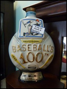 Great Collectible - Jim Beam Vintage Decanter.
