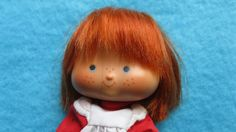 Vintage Strawberry Shortcake doll 1970s by ExperiencedFindings. , via Etsy.