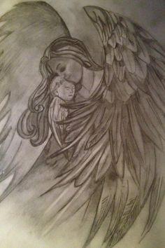 Angel tattoo !