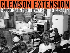 Cooking demonstration. Photo from the 1950 Extension Annual Report. #ClemsonExt100
