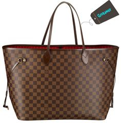 """Just Entered To Win A Free Louis Vuitton Neverfull MM Brown Bag.  It's a """"Must Enter!"""" - #louisvuitton #giveaway"""