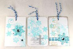 Sweet 'n Sassy Snowflake Flourish stamps