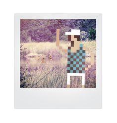 Pixels and Polaroids Mixed Media Photo Concept | Trendland: Fashion Blog & Trend Magazine