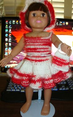 Ladyfingers - American Girl Knitting Patterns - Handout #1