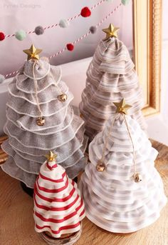 DIY Christmas Tree Cones For Only 99¢!! - FYNES DESIGNS