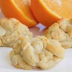 Orange creamsicle cookies.