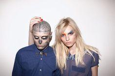 zombie boy & Andrej Pejic