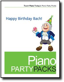 Brand new resource - the easiest way to offer a group piano class! Happy Birthday Bach celebrates Bach's Birthday in an action-packed piano party.