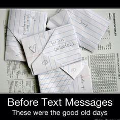 """Ahhhhh......the """"good old days""""...."""