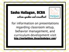 Learn more about individualized consultation with theautismhelper.com!!!