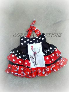 Dr. Suess OTT Pageant OOC Boutique Style size by corrinacreations, $45.99