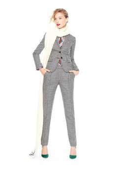 Fresh suits for the fashion-forward boss lady