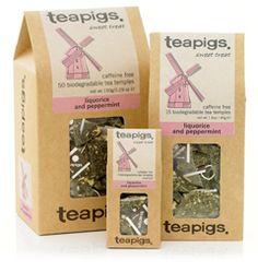 Peppermint & Licorice tea... so good