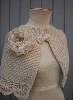 bridal  shurg or capalet ready to ship by deniz03 on Etsy, $82.00