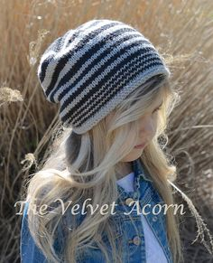 KNITTING PATTERNThe Zaire Slouchy Toddler Child by Thevelvetacorn, $5.50