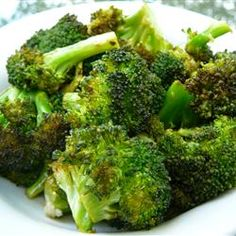 "Baked Broccoli | ""My wife doesn't typically like broccoli and she really liked this recipe! Quick and easy to fix."""