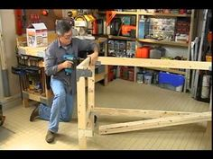 How to build a simple work bench using easy to use brackets, plywood, and 2 x 4 pine lumber.  Here is a link to the workbench hardware that I ordered for Home Depot, http://www.homedepot.com/h_d1/N-5yc1vZ1xjv/R-100375388/h_d2/ProductDisplay?langId=-1=10051=10053  Also if interested an article I wrote about the bench.   http://mat...