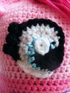 Ravelry: Pinkie Pie My Little Pony Hat Pattern - Perfect Christmas Gift pattern by Patricia Stuart, eye
