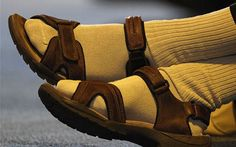 Socks and sandals: summer's unlikely style trend - Telegraph