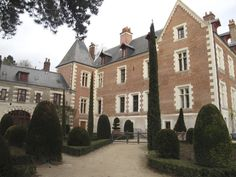 The Leonardo da Vinci house in the Loire Valley in France.