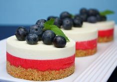 White Chocolate No-Bake Cheesecake by Sprinklebakes #fourth #of #july #fourthofjuly #party #idea #ideas #funideas #coolideas #food #foodie #yum #independence #day #family #fun #cookout #cookouts #grill #dessert #desserts #redwhiteandblue www.gmichaelsalon.com