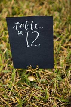 Table number- love t