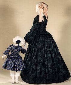 1855 dresses