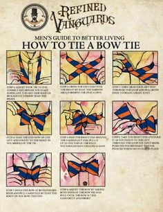 How To Tia a Bow Tie