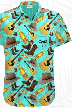 CMC Rocks Music Festival 2020 Custom Hawaiian Shirts - Your Club - Your Festival - Your Team - Your design - Your shirt. We create and supply custom designed shirts and shorts for your next group, family or corporate event. Or we can simply add your logo.  #customshirts #customhawaiianshirts #corporateshirts #eventshirts #festivalshirts #uniforms #groups #corporate #tourshirts #corporateshirts #customtshirts #customt-shirts #custom-shirts #madetoorder #cmcrocksshirts #conference