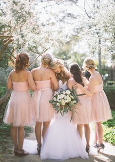 Love this Bridesmaid Photo with the Bride :: Photo by Kelsea Holder