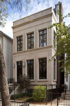 Traditional Exterior - transitional - exterior - chicago
