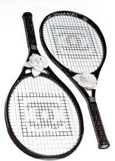 Chanel Tennis Rackets.