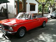 el BMW 2002 coupé 1968 de Petete !!