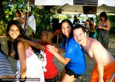 "According to the MUSC in Trinidad & Tobago Global Study Ambassadors, ""It's always a good time to dance in Tobago!"""