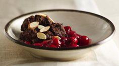Chocolate Cherry-Raspberry Cobbler. Uses chocolate ice cream in the recipe! Yum!
