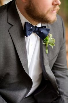 Blue Bow Tie | Photo by Katelyn James