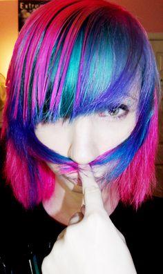 Lovely Dyed Locks
