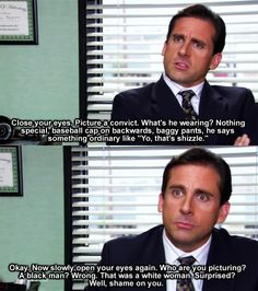 Michael Scott. The Office. Oh, how I love this show.
