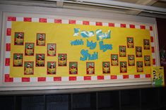Dr. Seuss' Bulletin Board - I Can Read With My Eyes Shut