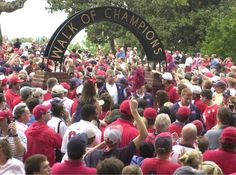 Ole Miss - University of Mississippi Rebels - Walk of Champions arch