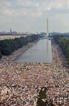 Civil Rights March, Washington, 1963.