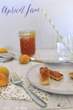 Apricot Jam, Delineate Your Dwelling #jelly #fruit #farmtotable #gardentotable