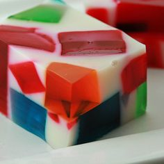 Broken Glass Jello — So easy, so simple and so much retro fun!