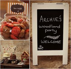 woodland folk party from white room events
