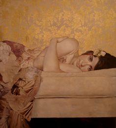 gorgeous pastel portrait