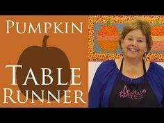 Hexagon Pumpkin or Ornament Table Runner Quilt: Missouri Star Quilt Co. Jenny Doan Easy Tutorial - YouTube