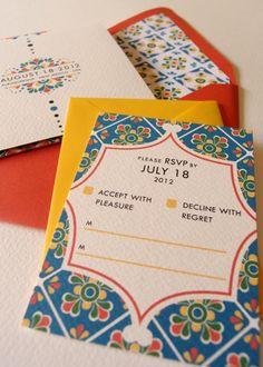 mexican wedding invitations « Lizzy B Loves